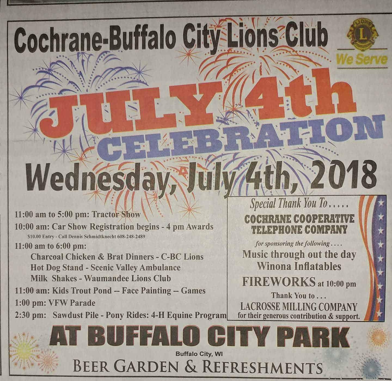 buffalo city  wisconsin